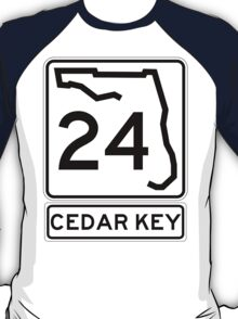 Florida 24 - Cedar Key T-Shirt