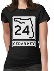 Florida 24 - Cedar Key Womens Fitted T-Shirt