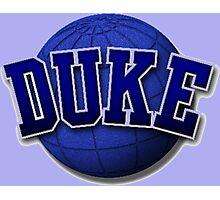 Duke ball Photographic Print