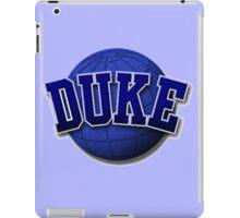 Duke ball iPad Case/Skin