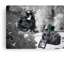 ☀ ツMY FUGIFILM Is-1 INFRARED CAMERA INSIDE,PICTURE TAKEN WITH THE INFRARED CAMERA ☀ ツ Canvas Print