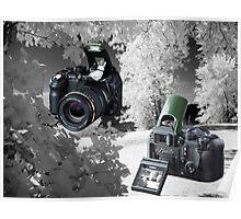 ☀ ツMY FUGIFILM Is-1 INFRARED CAMERA INSIDE,PICTURE TAKEN WITH THE INFRARED CAMERA ☀ ツ Poster