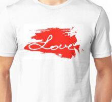 Love. Conceptual handwritten phrase Unisex T-Shirt