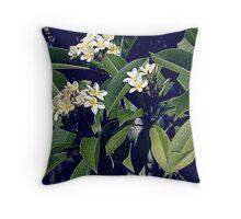 Plumeria in Perth, WA Throw Pillow