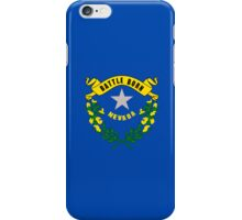 Smartphone Case - State Flag of Nevada - Horizontal iPhone Case/Skin