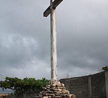 Cross in Haiti by phrozenfotos