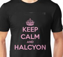 Keep Calm and Halcyon Unisex T-Shirt