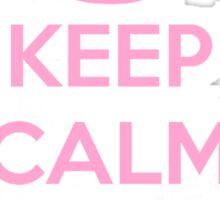 Keep Calm and Halcyon Sticker