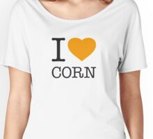 I ♥ CORN Women's Relaxed Fit T-Shirt
