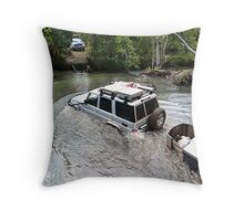 Surviving Nolans Creek  Throw Pillow