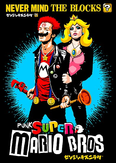 The Sid & Nancy Nintendo Lost Levels by butcherbilly