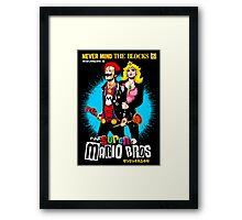 The Sid & Nancy Nintendo Lost Levels Framed Print