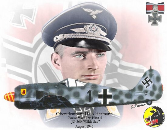 Hajo Hermann - German Nightfighter by A. Hermann