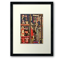 The Queen's wardrobe for zpawpaw Framed Print
