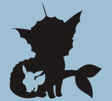 The Evolution of Vaporeon Kids Clothes