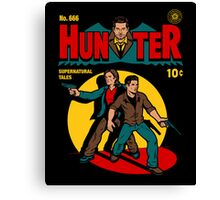 Hunter Comic Canvas Print