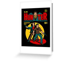 Hunter Comic Greeting Card
