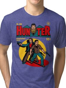 Hunter Comic Tri-blend T-Shirt