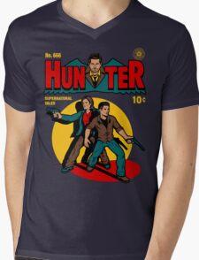 Hunter Comic Mens V-Neck T-Shirt