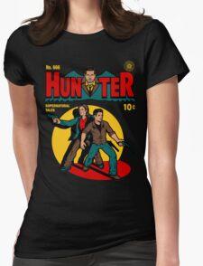 Hunter Comic Womens Fitted T-Shirt