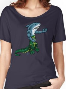 Alligator Shark Man Women's Relaxed Fit T-Shirt