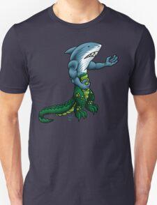 Alligator Shark Man Unisex T-Shirt