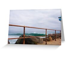 Another Perfect Wave _ seven Greeting Card