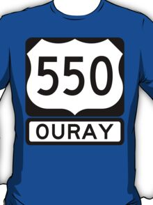 US 550 - Ouray T-Shirt
