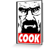 COOK Greeting Card