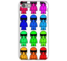 The Stig - Multi-Coloured iPhone Case/Skin