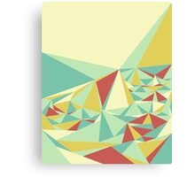Facet - Bloom Tone Canvas Print