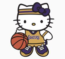 LAKERS Hello kitty by daleos