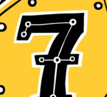 Lucky seven Sticker