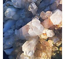 Quartz Crystal Photographic Print