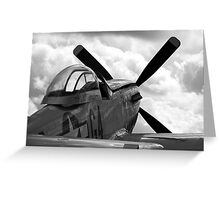 """P51 D Mustang - """"Nooky Booky IV"""" Greeting Card"""