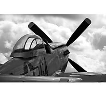 """P51 D Mustang - """"Nooky Booky IV"""" Photographic Print"""