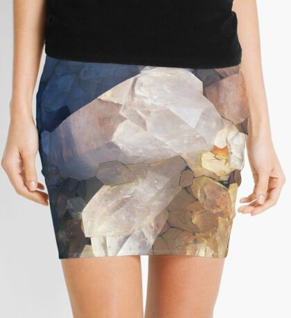 Quartz Crystal Mini Skirt