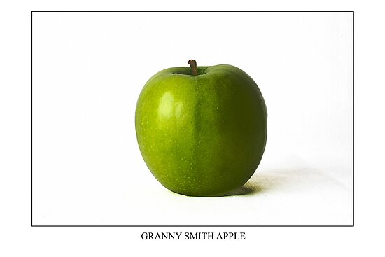 Granny Smith Apple Labeled by Alan Harman