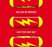 My SUPERHERO PILLS - The Flash by Chungkong