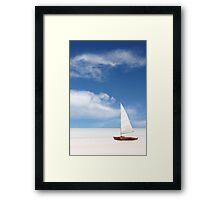 An Australian Beach Framed Print