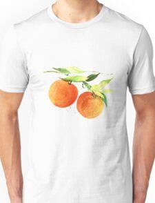 Watercolor oranges Unisex T-Shirt