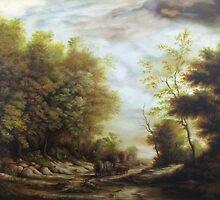 Dan Scurtu - Forest Road by Dan Scurtu
