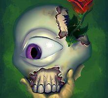 Monster Self Portrait III by Jodediah