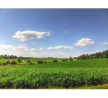Farm Land Photographic Print