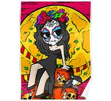 MIGUEL MUERTE - Grave Girl Poster