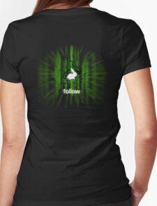 White Rabbit - Tee Womens Fitted T-Shirt