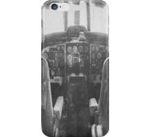 Vintage Plane Cockpit iPhone Case/Skin
