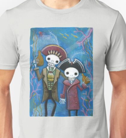 Skelly Pirate Bros Unisex T-Shirt