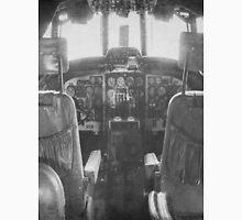 Vintage Plane Cockpit Unisex T-Shirt