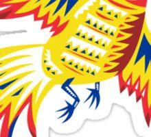 Pheasant Bird Fowl Flying retro Sticker